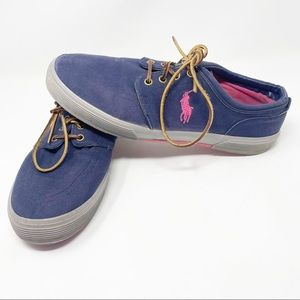 Polo Ralph Lauren Low Top Lace Up Sneakers